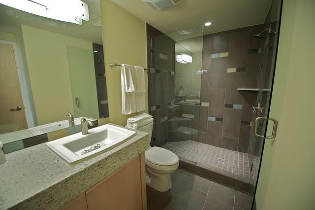 Cline hotel contemporary bathroom oklahoma city by for Bathroom remodel norman ok