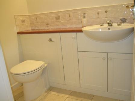 Cloak room modern-bathroom
