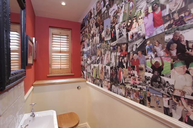 Cloakroom modern-bathroom