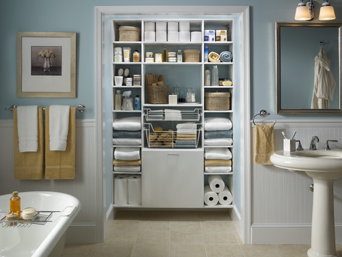 Traditional Bathroom by Other Metro Closet & Home Storage Designers Capital Closets
