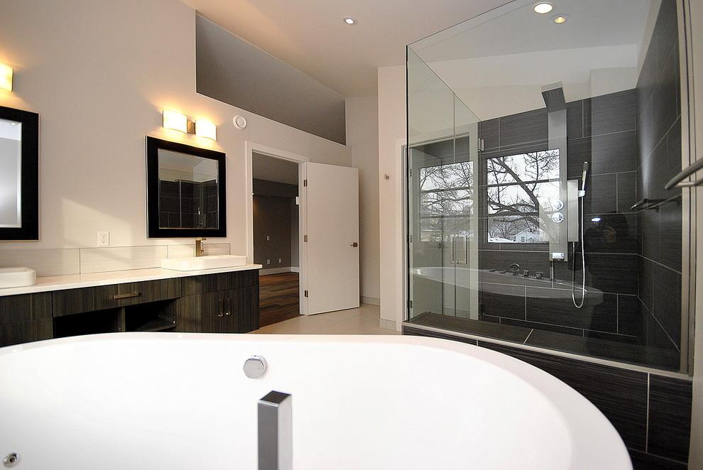 Cloverdale - Contemporary Infill - Contemporary - Bathroom ...