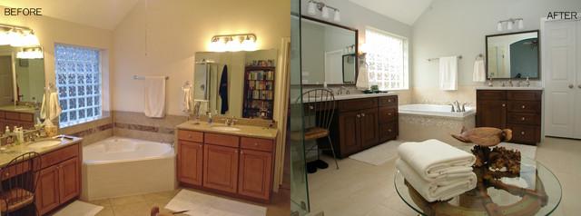Coastal bath pearland tx transitional bathroom for Bathroom remodeling pearland tx