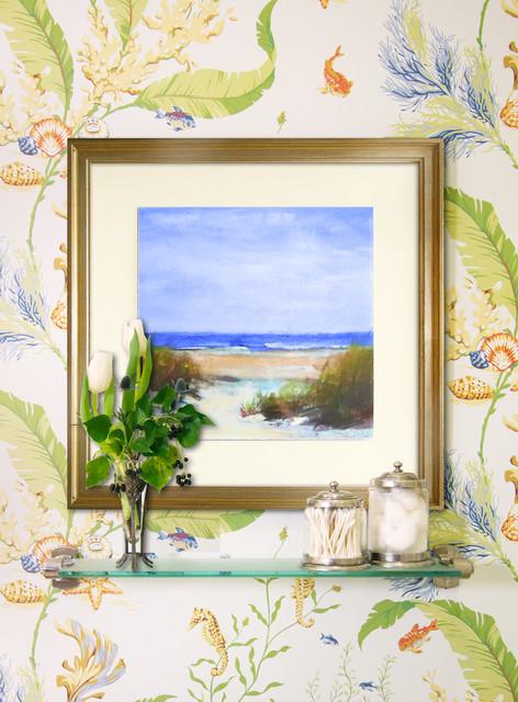 Coastal Beach House Bathroom - Beach Style - Bathroom - new york - by ...