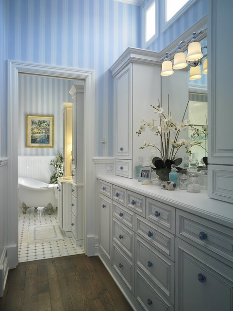 Coastal elegance beach style bathroom other metro for Beach inspired bathroom designs