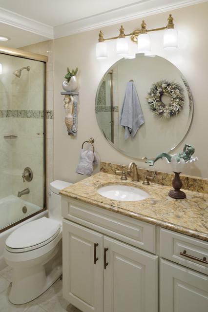 Coastal Living Des Peres Mo Beach Style Bathroom St Louis By Marcia Moore Design
