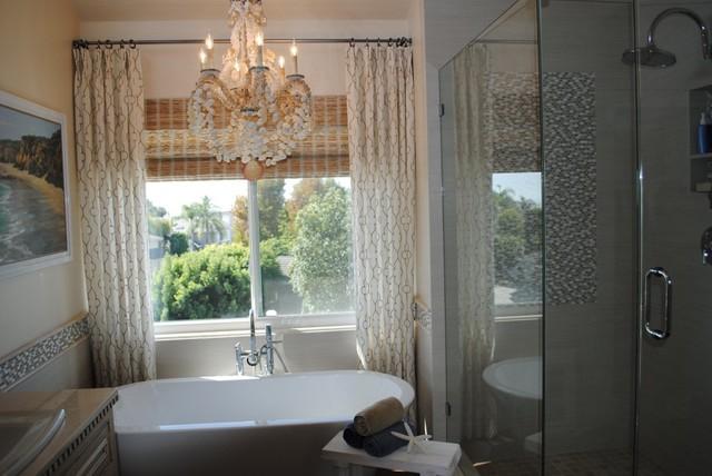 Coastal Master Bath beach-style-bathroom