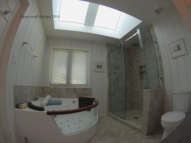 Coastal master bathroom traditional bathroom detroit for Bathroom design consultant