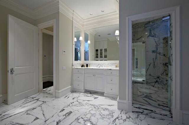 Idéer för maritima badrum