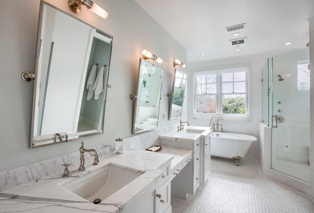 Coastal Plantation In Manhattan Beach Beach Style Bathroom Los - Bathroom showrooms manhattan