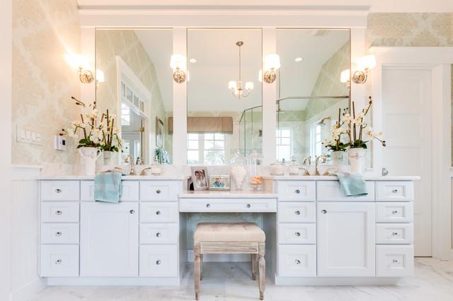 Coastal Virginia Idea House Beach Style Bathroom