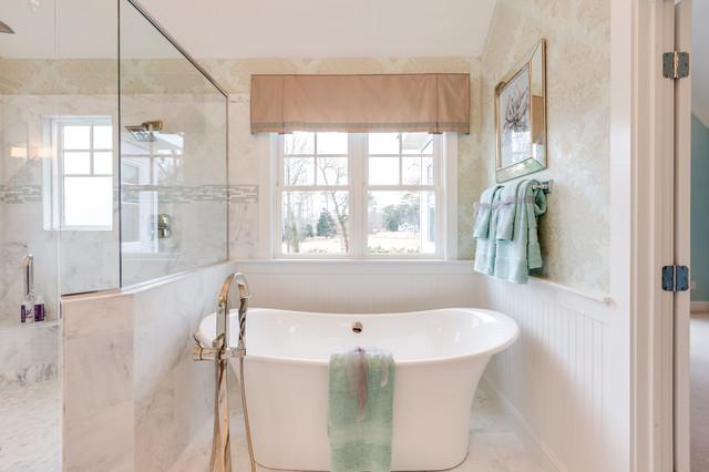 Coastal Virginia Idea House - Beach Style - Bathroom - Other - by Progress Lighting