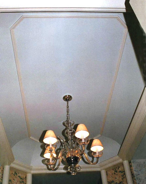 Coffered tray ceilings traditional bathroom new for 8x4 bathroom designs