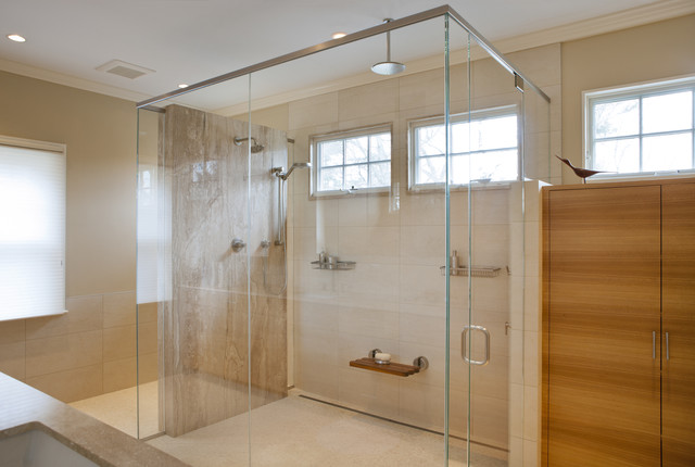 Coldspring Park Residence Bath, Shower Enclosure modern bathroom
