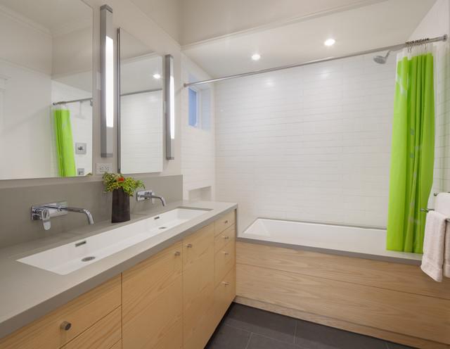 Cole Valley Residence - Simplicity contemporary-bathroom