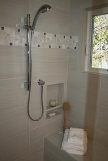 Coleman Master Bathroom - Transitional - Bathroom - San Francisco - by Kitchens of Diablo