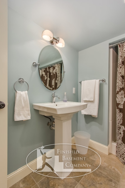 traditional bathroom minneapolis by finished basement company