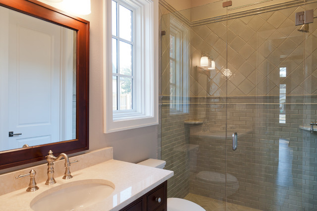 Colgate traditional-bathroom