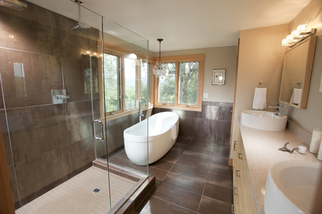 College hill bathroom contemporary bathroom portland for College bathroom ideas