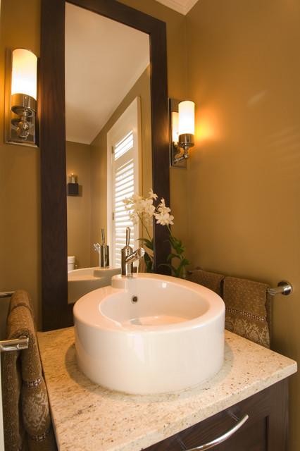 powder room. Black Bedroom Furniture Sets. Home Design Ideas