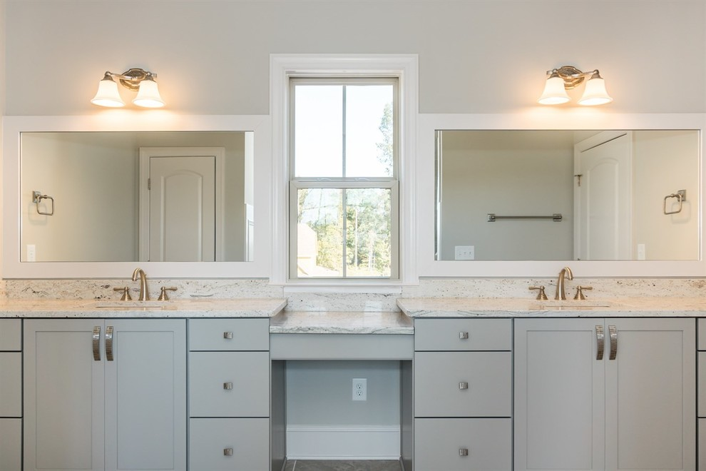 Colonial White Bathroom Vanity Transitional Bathroom Raleigh By Crs Marble Granite Houzz