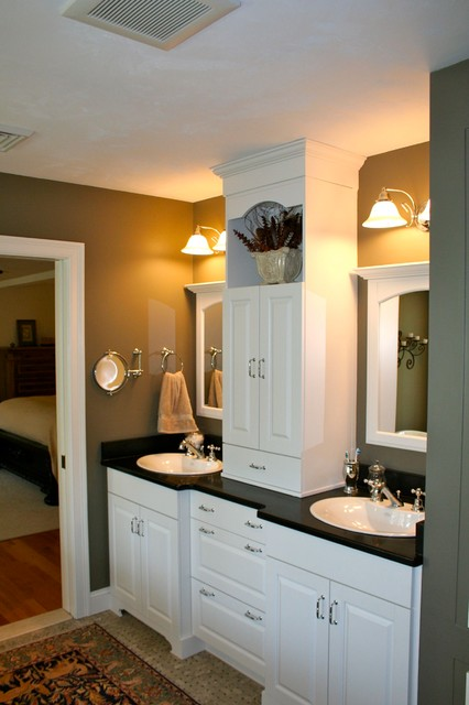 Colonial Whole House Renovation traditional-bathroom