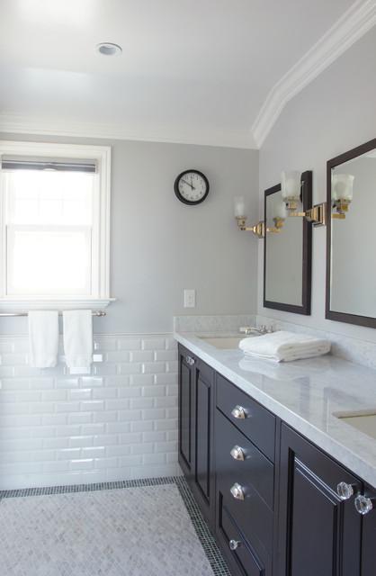 Color design tudor overhaul traditional bathroom for Tudor bathroom design