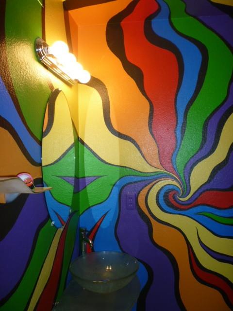 Color Ribbon Bathroom eclectic-bathroom