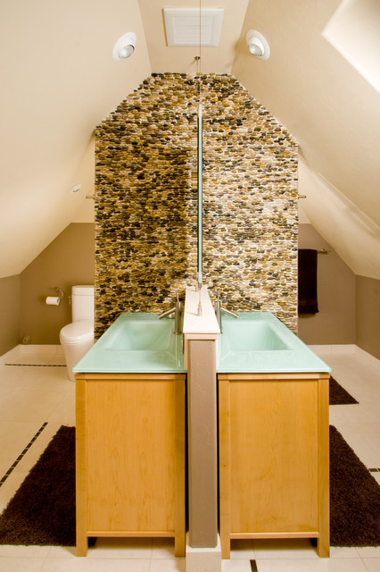 St. Petes contemporary-bathroom