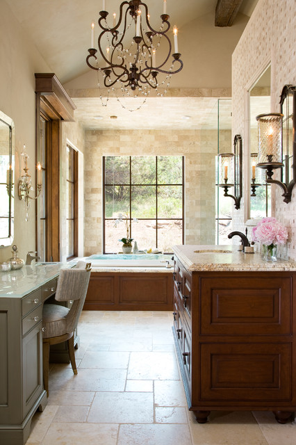 Colorado ranch home traditional bathroom denver by for Ranch bathroom design