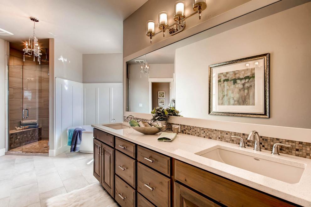 Colorado Ranch Homes - Traditional - Bathroom - Denver ...