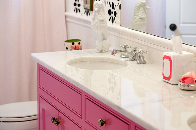 Colorful and Cheery transitional-bathroom