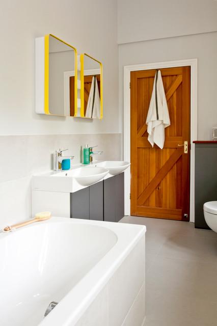 Colorful Kids Bathroom Modern Bathroom Oxfordshire By Instil Design Limited
