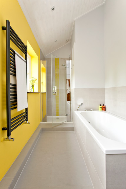 Colorful kids bathroom contemporary bathroom south east by instil design limited Bathroom design company limited