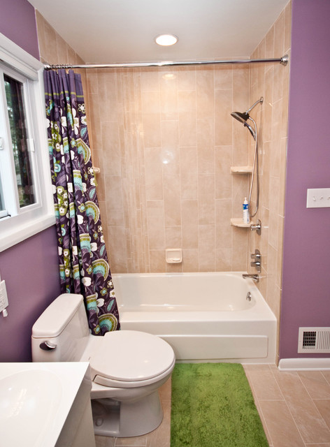 Columbia Contemporary eclectic bathroom