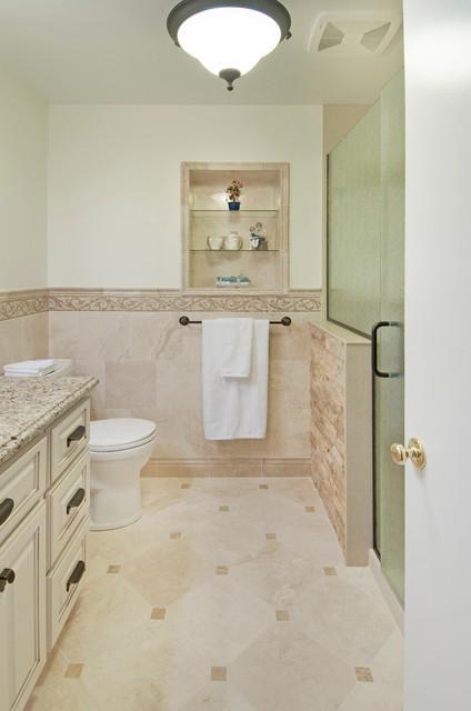 Columbus area Hall Bath Remodel Traditional Bathroom