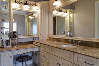 Columbus_Master Bath Vanity Area - Traditional - Bathroom ...