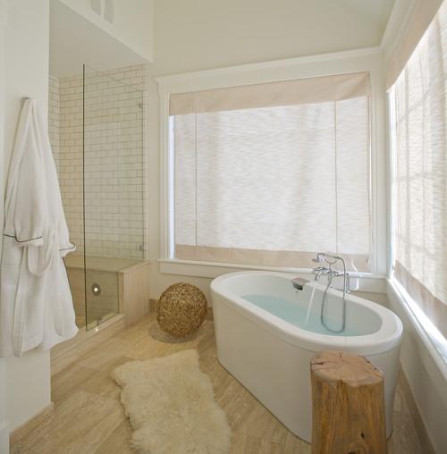 Ideas for earthy yet elegant bathroom floor tile for Bathroom designs houzz