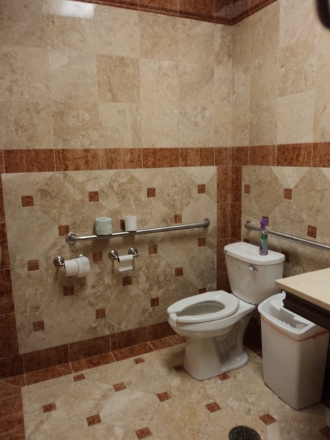 Commercial bathroom design traditional bathroom chicago by stone habitat - Commercial bathrooms designs ...