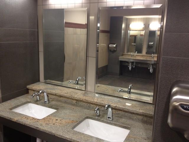 Commercial bathroom high end for High end modern bathrooms