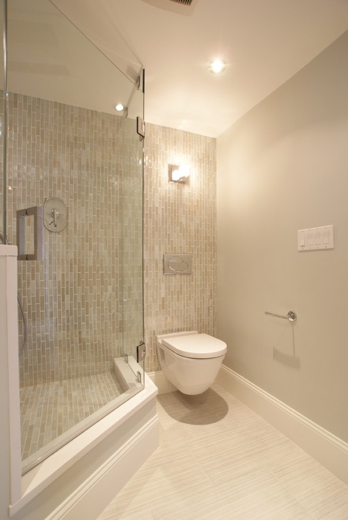 Commercial Wharf Condo, Boston, MA modern bathroom