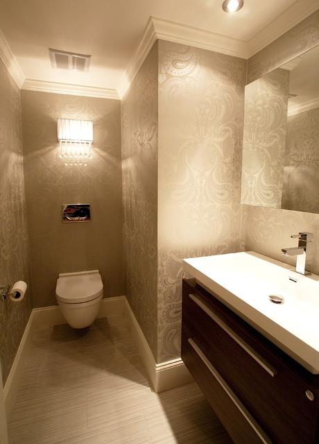 Commercial Wharf - Modern - Bathroom - Boston - by Melissa Miranda Interior Design