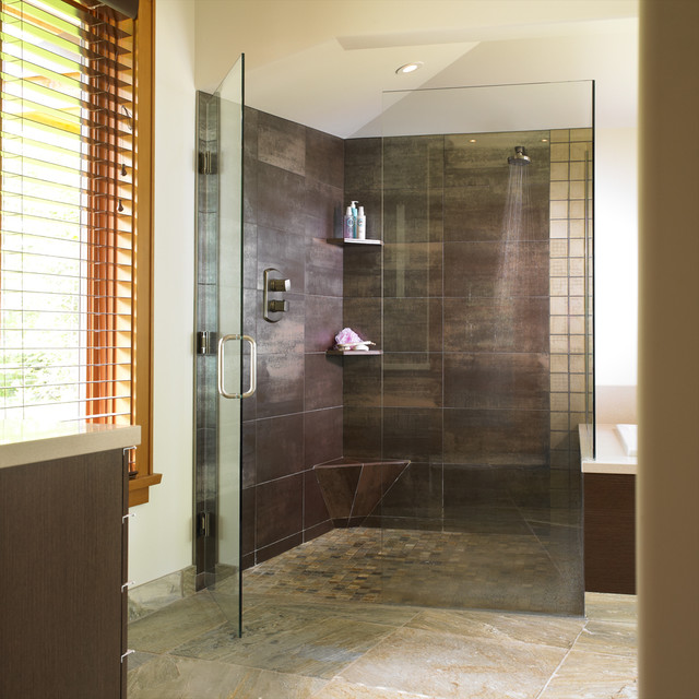 Comox -ensuite modern bathroom