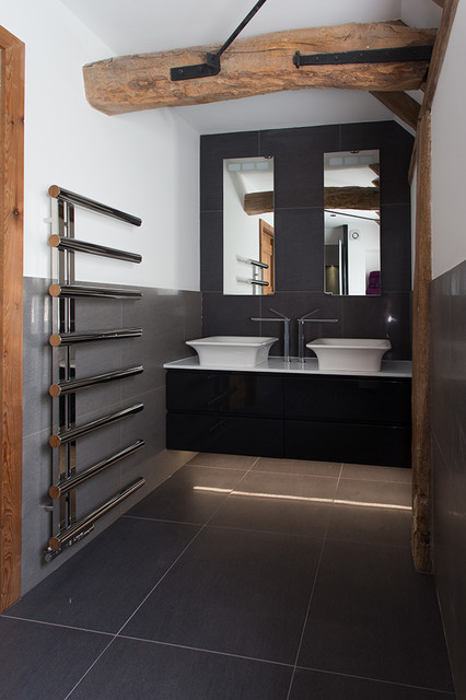 Compact En Suite Shower Room Contemporary Bathroom Kent By Potts Ltd