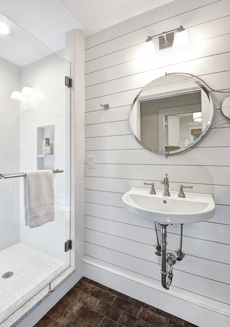 Compact Full Bathroom Beach Style Bathroom Charleston By Distinctive Design Build