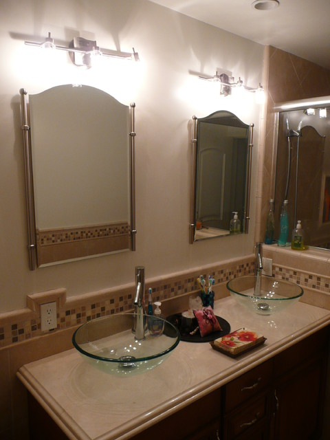 Complete bathroom remodel traditional bathroom los for Complete bathroom renovations
