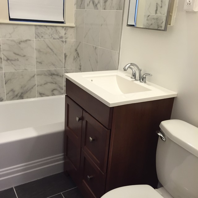 Complete bathroom remodel in foggy bottom washington dc for Complete bathroom remodel
