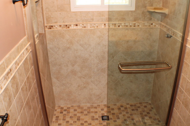 Complete Bathroom Renovation In Fords Nj Traditional