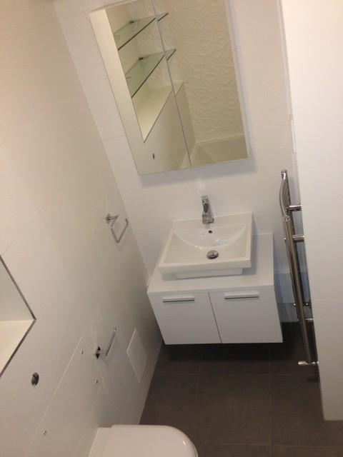 Home improvement contemporary-bathroom
