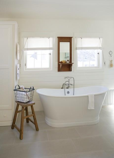 Concord Green Home beach-style-bathroom