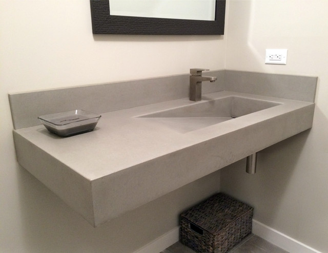 concrete ada compliant bathroom sink contemporary bathroom new rh houzz com contemporary bathroom sink cabinets contemporary bathroom sink faucets